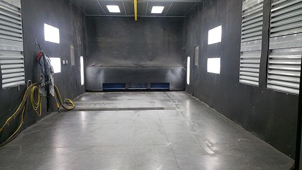 Rubber Sandblasting Room Lining